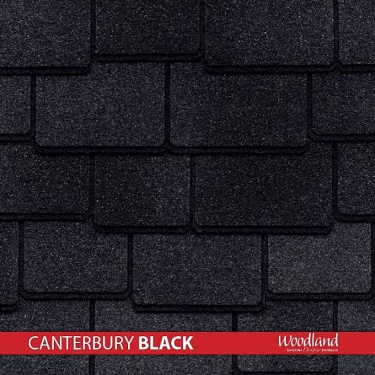 GAF Value Collection Designer Shingles Woodland – Canterbury Black