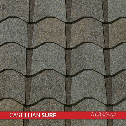 GAF Value Collection Designer Shingles Monaco – Castillian Surf