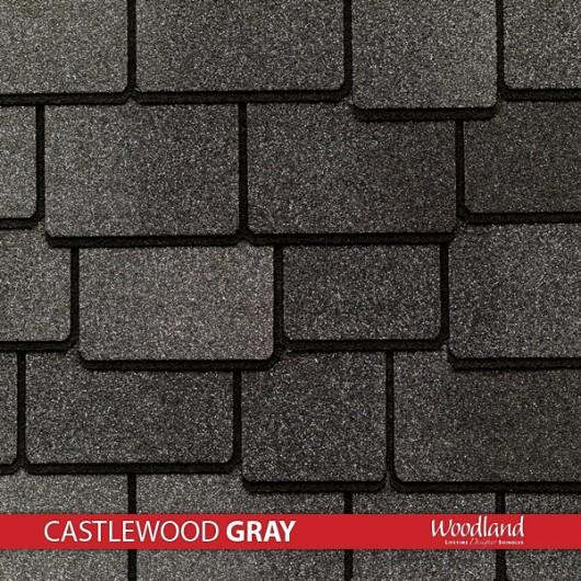 GAF Value Collection Designer Shingles Woodland – Castlewood Gray