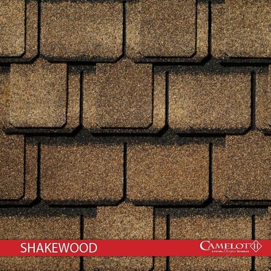 GAF Value Collection Designer Shingles Camelot II – Shakewood