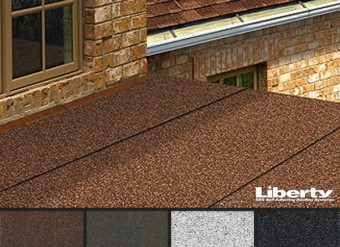 Liberty Low Slope Self-Adhesive Shingles