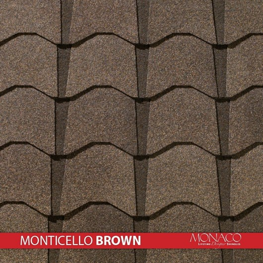 GAF Value Collection Designer Shingles Monaco – Monticello Brown