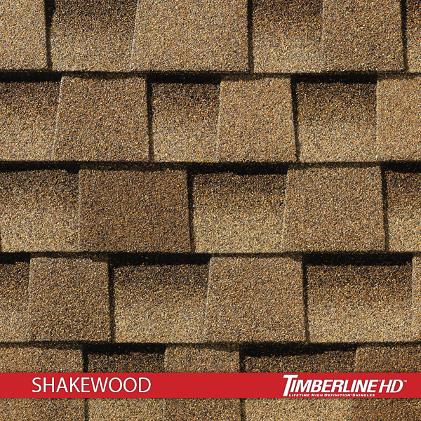 Timberline Hd Shakewood