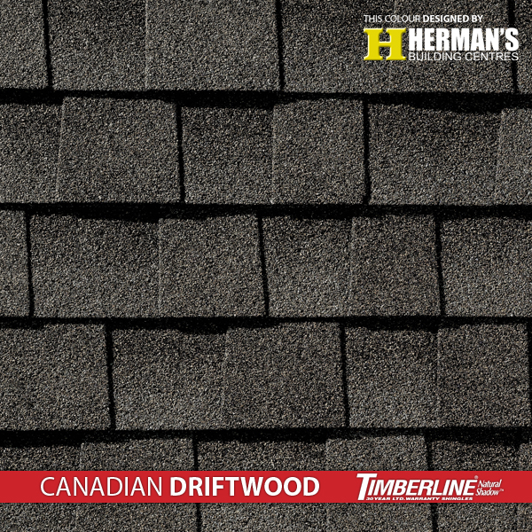 Timberline Natural Shadow Canadian Driftwood