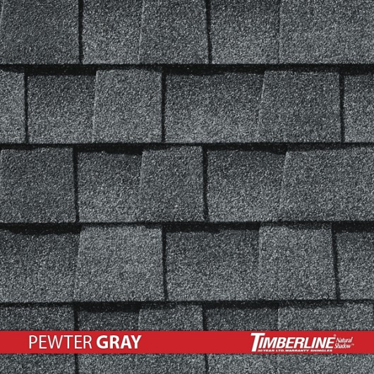 Timberline Natural Shadow – Pewter Gray
