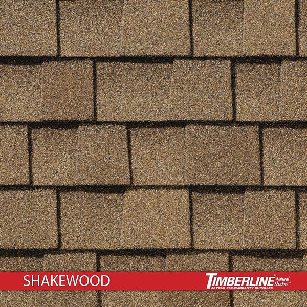 Timberline Natural Shadow Shakewood