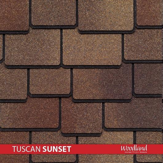 GAF Value Collection Designer Shingles Woodland – Tuscan Sunset