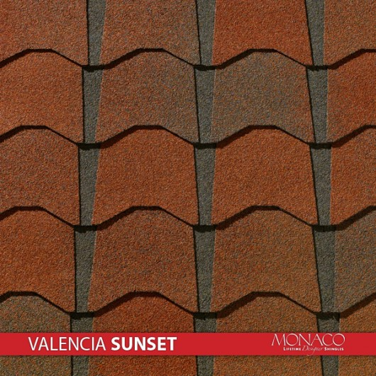 GAF Value Collection Designer Shingles Monaco – Valencia Sunset