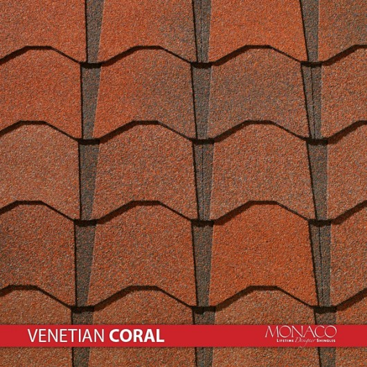 GAF Value Collection Designer Shingles Monaco – Venetian Coral
